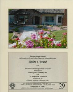 Judge's Award for Residential Redesign, 2005
