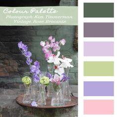 Colour Palette – Spring Flowers