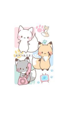 Cute & Kawaii Animal Art Art animalier mignon et kawaii Griffonnages Kawaii, Arte Do Kawaii, Kawaii Anime, Cute Kawaii Animals, Cute Animal Drawings Kawaii, Cute Bear Drawings, Kawaii Doodles, Cute Doodles, Anime Animals