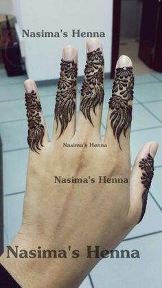 Fingers only henna Mehndi Designs For Fingers, Henna Tattoo Designs, Mehandi Designs, Henna Tattoos, Tatoos, Mehendi, Henna Mehndi, Menhdi Design, Gold Henna