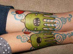 sharpie tattoos - Google Search