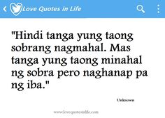 Tagalog Hugot Quotes for 2015