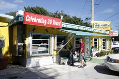 A morning tradition for locals, Harriette's Restaurant in Key Largo is like having mom cook for you.