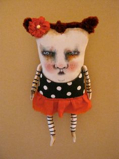Hey, I found this really awesome Etsy listing at https://www.etsy.com/listing/237848989/weird-monster-doll-art-doll-monster