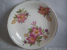 floral pin dish