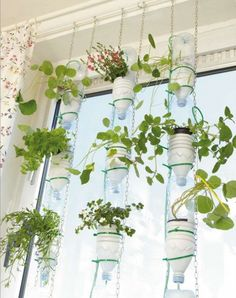Windowfarm // Indoor window gardening  http://www.handmadekultur.de/projekte/windowfarm-meine-kleine-farm_29306