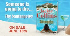 Listen to an excerpt from The Santangelos audio book. Great Books, New Books, Books To Read, Jackie Collins, Read News, Fiction, Author, Reading, Hot