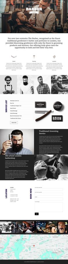 LEVELUP is a unique feature-packed #WordPress Theme for #barber #hairstyle website, created with attention to detail, design trends and web development technologies with 25+ stunning homepage layouts download now➯ https://themeforest.net/item/levelup-creative-multipurpose-wordpress-theme/15896734?ref=Datasata
