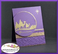 Come to Bethlehem, Saturday Sketch Challenge by SandiMac - Cards and Paper Crafts at Splitcoaststampers