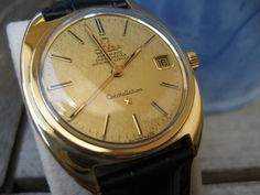 Vintage Omega Constellation Gold-Cap w/ Fine Textured Dial #Omega #Constellation #Vintage - omegaforums.net