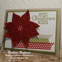 Joyful Christmas Stamp Set - Stamp-a-Stack Card