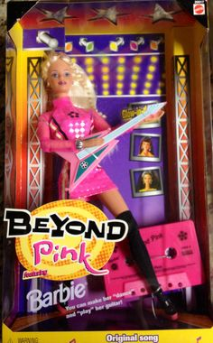 Beyond Pink Rock Group Barbie doll