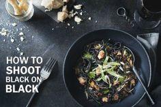 How I Shot Black on Black Food