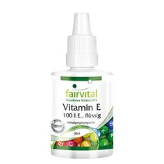 Vitamin E ÖL 100 I.E. flüssig - 50ml - dieses flüssige Vitamin E ist zur Pflege bei trockener, zu Rötungen und Juckreiz neigender Haut geeignet.