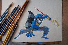 Sly Cooper by TAI55 on deviantART