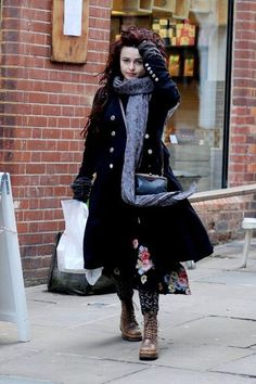 Helena Bonham Carter. Proof that there's such thing as looking crazily beautiful. I'll teach my daughter this