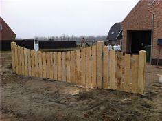 houten hek HK15
