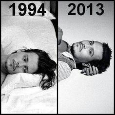 Proof that Johnny is Peter Pan and will never age