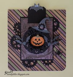 """My """"Crafty"""" Life on the Internet: Designers Challenge - Make it Ghouly!"""