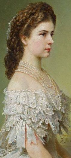 Elisabeth, Empress of Austria.                                                                                                                                                     Mais