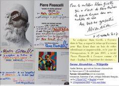 2007 #PierrePinoncelli #duchamp http://www.youtube.com/watch?v=JUYsWad-fXE . Performance sur Trône de Lolop créé en hommage a #MaxERNST ( ses Écritures ) Performance dans l'école de Callian http://www.youtube.com/watch?v=K7QhJsTOvGI . année 2013 à #SEILLANS performance http://www.dailymotion.com/video/x10qclv_hommage-a-max-ernst-alain-girelli_creation
