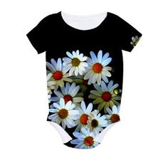 Blossoming darkness Baby Bodysuit