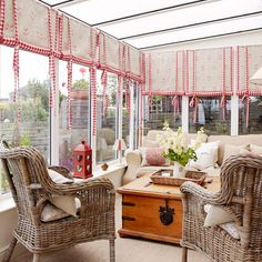 The conservatory furniture looks awesome every time. It is the best option to use conservatory furniture for your home decor. Conservatory Interiors, Small Conservatory, Conservatory Design, Conservatory Furniture, Conservatory Curtains, Conservatory Extension, Country House Interior, Country Homes, Best Kitchen Designs