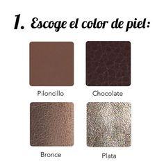 Personaliza tu porta-pasaporte Caña de Azúcar en 3 simples pasos!  1. Elige el color de piel que más te guste: En Caña de Azúcar utilizamos los materiales de la mejor calidad para nuestros productos. 👌🏼