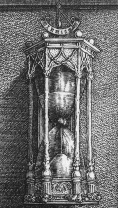 """Melancholia I"" (detail), Albrecht Dürer"