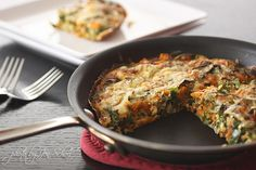 Sweet Potato and Collard Greens Frittata– I've never tried collard greens, but this looks amazing!    with Smoked Cheddar