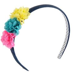 Astonishing Girls 2 Pack Opaque Jeweled Headbands Cat Jack Gold Blue Short Hairstyles Gunalazisus