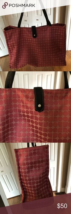 Kate Spade pink bag Kate Spade bag from circa 2007ish. In great condition! Pink circle pattern. Please let me know if you need more details. Thank you! kate spade Bags Totes