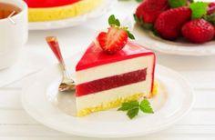 Torta cake fragole