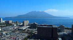 桜島(鹿児島県庁展望台)