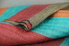 7235d479c312 Charmant foulard en soie rayée pour homme et femme, un grand foulard en soie  sauvage