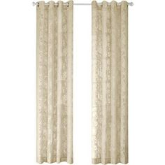 Three Posts Oliver Sheer Grommet Single Curtain Panel