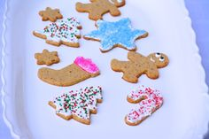 Paleo Christmas Cookies: Cutout cookies