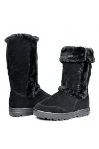 DREAM PAIRS Women's Winter Snow Heavy Fur Lining Slip on Casual Fashion Cold Weather Boots