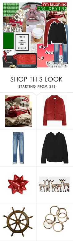 """""""maybe its a cruel joke on me, whatever✧  addy's 12 sets 6/12"""" by h0ld-0n-let-g0 ❤ liked on Polyvore featuring Chanel, Pottery Barn, Zara, rag & bone, Acne Studios, NARS Cosmetics, bedroom and addys12sets"""