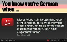 You know you're German when... I think this regularly causes rage blackouts in a lot of people :o