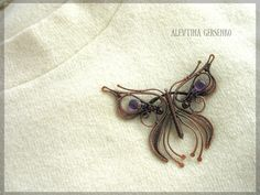 Refreshingly Different Take on the Butterfly - Beautiful Wire Work копия