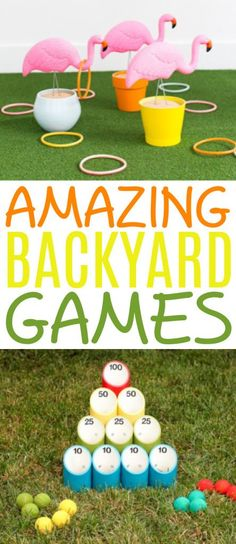 We have been spending a lot more time in our own backyard this  year so these Amazing Backyard Games have been a lifesaver! There are so many  different games here you can make and play with your family to add a little fun  to your day. #diy #crafts #teencrafts  #projects #diycrafts #diyprojects #fundiys #funprojects #diyideas  #craftprojects #diyprojectidea #teencraftidea Diy Projects For Teens, Diy For Teens, Crafts For Teens, Easy Diy Projects, Easy Crafts, Craft Projects, Craft Ideas, Kid Stuff, Random Stuff