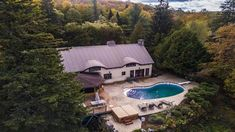 The Lodge - Original Laurentian Log Home, with pool, hot tub, and lake access - Morin-Heights Canadian Dollar, Vacation Rentals, Log Homes, Ideal Home, Tub, Cottage, Cabin, Explore, Mansions