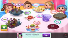 kids games videos - Chef Kids - Cook Yummy Food - tabtale games