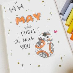 Looking for star wars bullet journal theme ideas? We have collected that will make you excited to add the force to your notebook! Bullet Journal Month, Bullet Journal Quotes, Bullet Journal Notebook, Bullet Journal Junkies, Bullet Journal Inspo, Bullet Journal Spread, Bullet Journal Ideas Pages, Bullet Journal Layout, Journal Pages