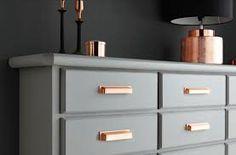 Image result for modern copper kitchen