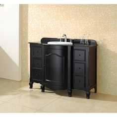 Chelsea – Meuble-lavabo en bois dur