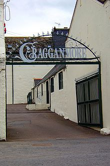 Cragganmore Distillery located in Speyside in an area known as the Garden of Scotland.