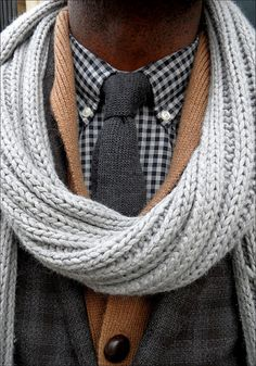 Lovely layering in brown and grey. Sharp Dressed Man, Well Dressed Men, Preppy Mens Fashion, Men's Fashion, Fashion Menswear, Preppy Style, My Style, Style Blog, Classic Style