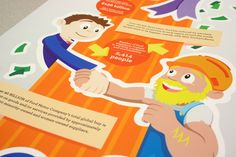 The Four Pillars of Ford Motor Company by Eric Norton, via Behance